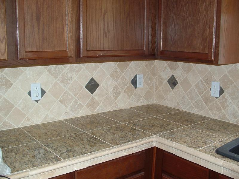 Options For Countertops : ... options. Tile comes in a variety of shapes andsizes and offers the